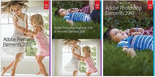 Adobe's Photoshop & Premiere Elements 2018 suite from $60, bundle $100, more