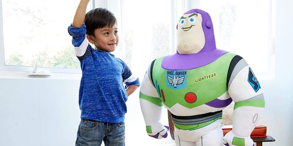 Giant 3.3-foot Toy Story 4 Buzz Lightyear Plushy now $21.50 (Reg. $35+) - 9to5Toys