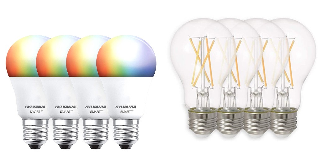Stock up on Sylvania smart + LED bulbs with Alexa and Google support from $12 - 9to5Toys
