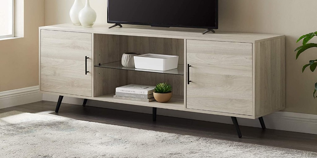 Upgrade to Walker Edison's 80-inch TV Stand at $228 (Reg. $350) - 9to5Toys