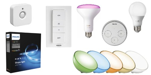 Today only, save $15 on select Philips Hue Smart Lighting accessories from $60