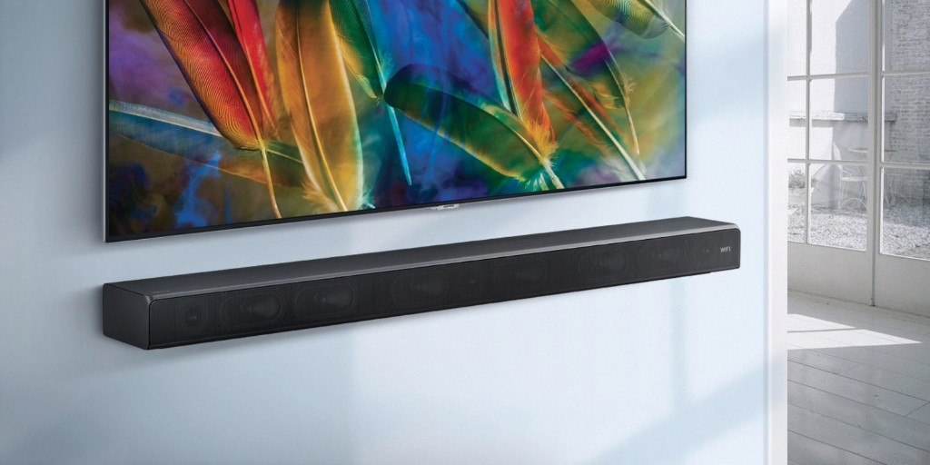 Samsung put a subwoofer inside its 3-channel sound bar: $298 (Save $100) - 9to5Toys