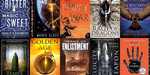 Score discounted science fiction and fantasy Kindle eBooks from $1, today only