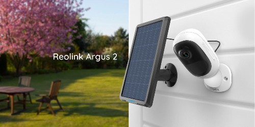 Reolink's Argus 2 camera + solar panel secures anywhere for $97 (Reg. $120)