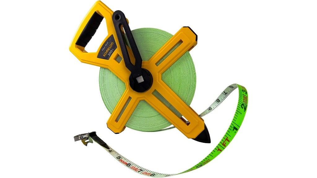 Komelon's 300-foot open reel tape measure drops to a new low at $19 - 9to5Toys