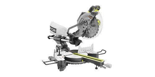 Tackle spring projects with Ryobi's 15A 10-inch Miter Saw for $129 shipped (Reg. $170)