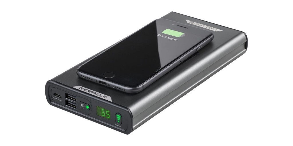 Goal Zero's Sherpa 100PD Qi Power Bank can charge it all at $150 (Save 25%) - 9to5Toys