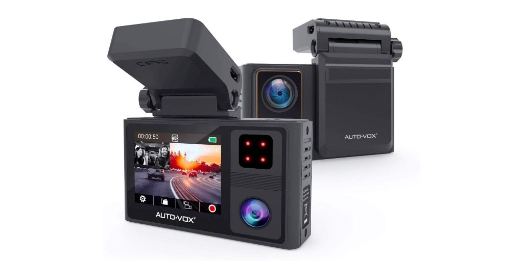 AUTO-VOX's dual dash cam records 1080p + has a built-in GPS: $98 (Reg. $140) - 9to5Toys