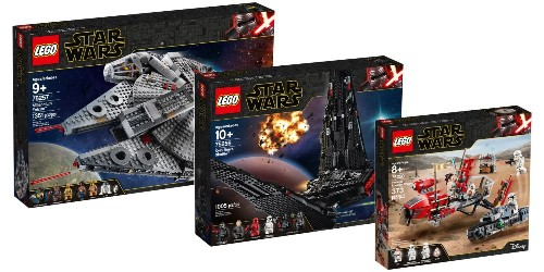 LEGO officially unveils eight new Star Wars Rise of Skywalker kits, more