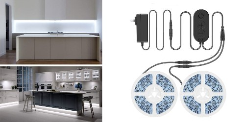 This LED light strip is nearly 33-feet long & perfect for ambient lighting at just $16 shipped