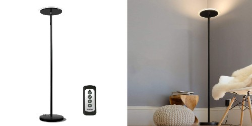This LED floor lamp outputs 3000 lumens for $52.50 shipped (30% off)