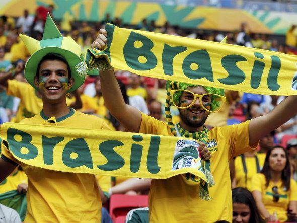 Noticias Da Copa.. No Brasil.. 2014 - Magazine cover