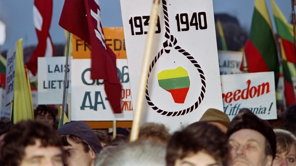 Lithuania fights info war as it marks independence anniversary
