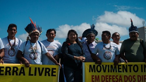 Brazil: Native groups protest against 'anti-indigenous' Bolsonaro