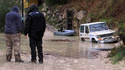 Italy and France pounded by heavy rain