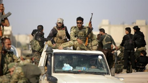 Russia urges Kurdish fighters to withdraw from Syria's border