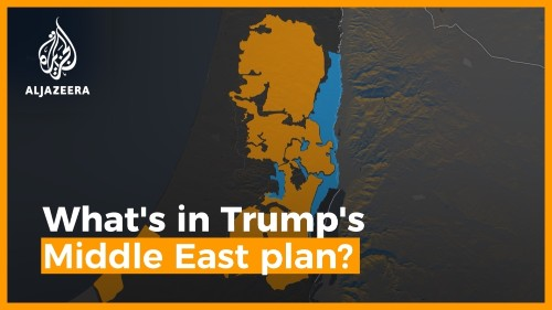 What is in Trump's Middle East plan?