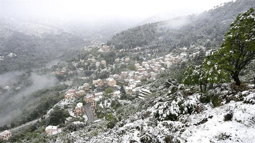 Mediterranean island of Corsica witnesses snow in May