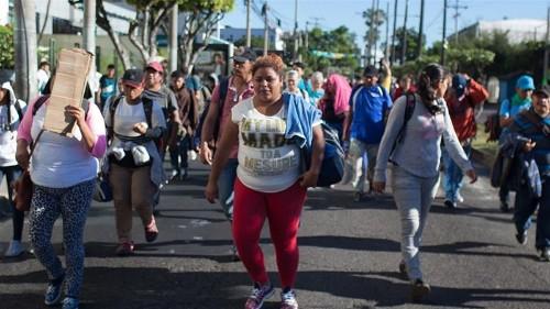 New migrant caravans form, as initial exodus arrives at US border