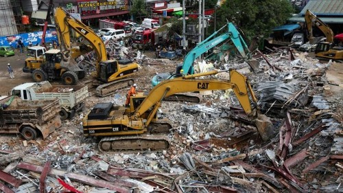 Cambodia charges seven over Sihanoukville building collapse