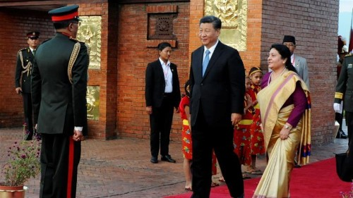 China, Nepal sign trade, infrastructure and security deals