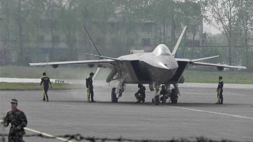 Chinese stealth drone takes first test flight