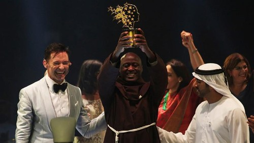 Kenya teacher from remote village crowned world's best, wins $1m