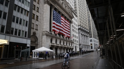 Dow closes up 469 points on hopes for ceasefire in oil price war