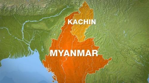 More than 50 feared dead after landslide at Myanmar jade mine