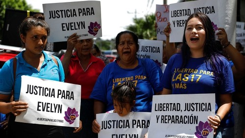 Salvadoran rape victim jailed for stillbirth not guilty of murder