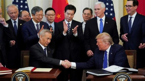 Did China capitulate to the US on 'beautiful monster' trade deal?
