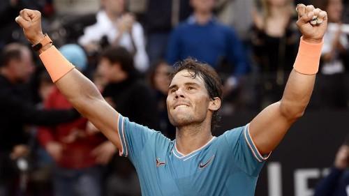 Nadal beats Djokovic for 9th Italian Open title