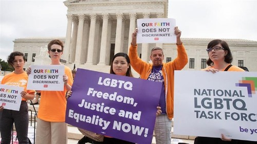 US Supreme Court sends gay wedding cake case back to lower court