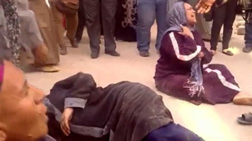 Egyptians reel from mass death sentence