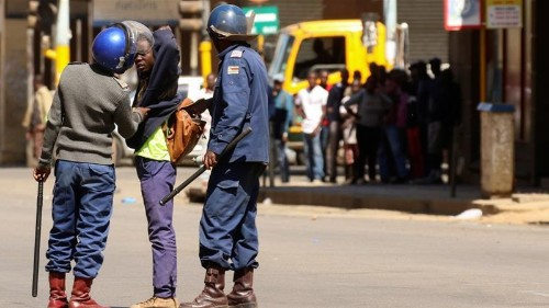 Zimbabwe police ban another protest over economic woes