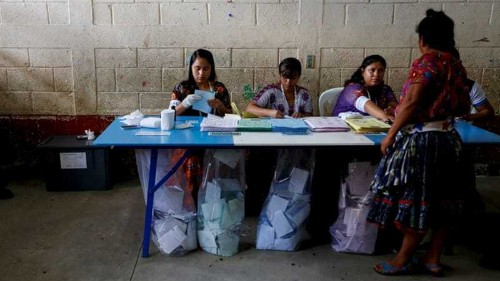 Polls close in Guatemala presidential election