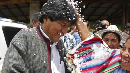 Morales poised to win Bolivia election