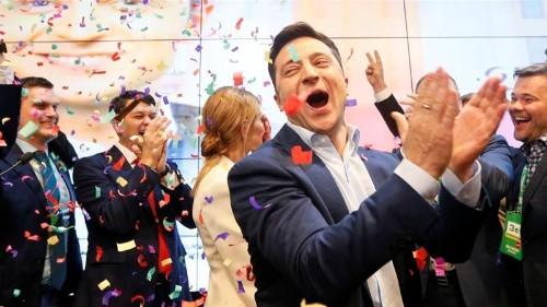 Volodymyr Zelensky wins Ukraine's presidential vote: Exit polls
