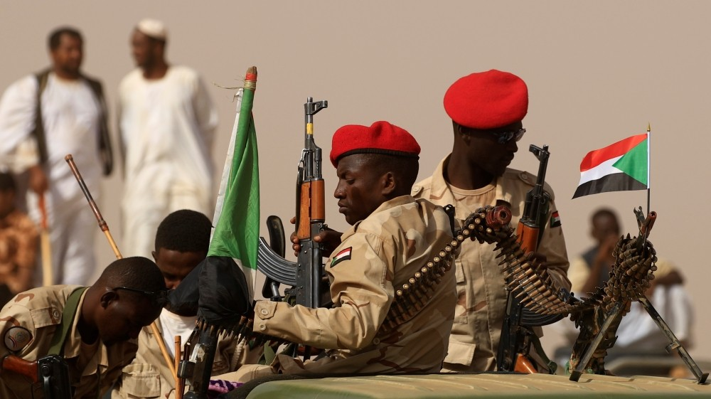 Sudan forces seize large weapons haul near Ethiopia