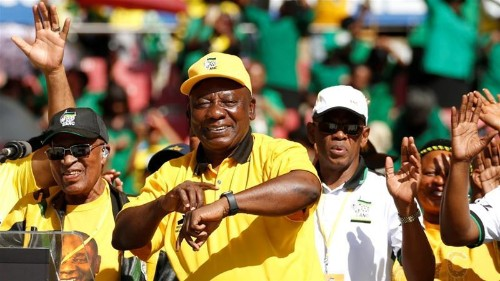 South Africa elections: Ramaphosa battles to restore faith in ANC