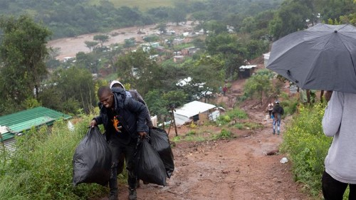 More than 50 dead in South Africa after heavy rains