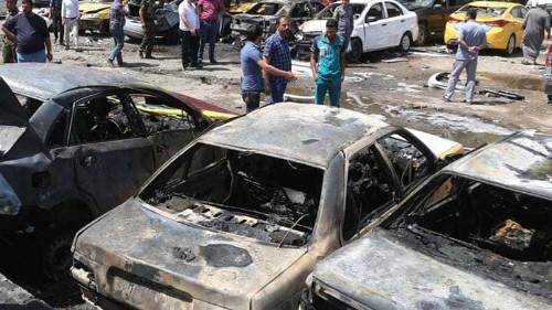 Bombings across Baghdad kill at least 20