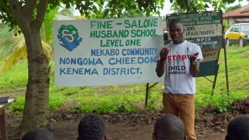 How a school for husbands in Sierra Leone tackles rape culture