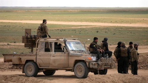 US-backed Syrian forces battle to capture last ISIL enclave