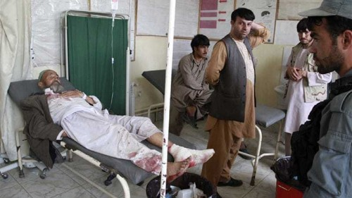 Afghanistan suicide attack kills governor