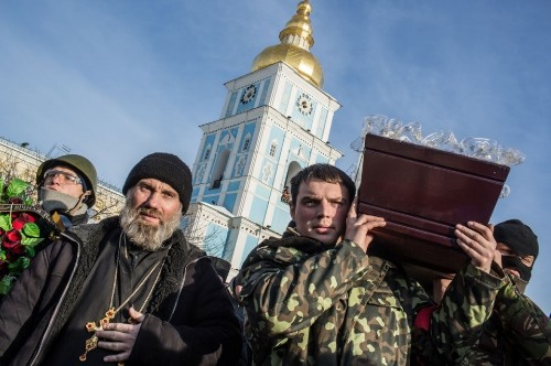 Ukraine protests turn deadly