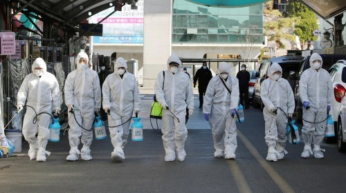 World battles virus as new cases outside China top those within