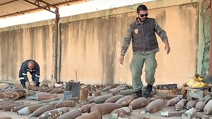Leftover rockets will remain a threat for years in Libya