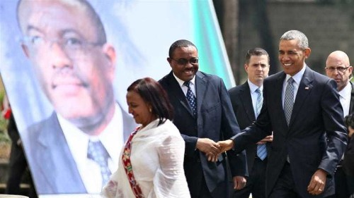 Obama urges Ethiopia to end crackdown on opposition