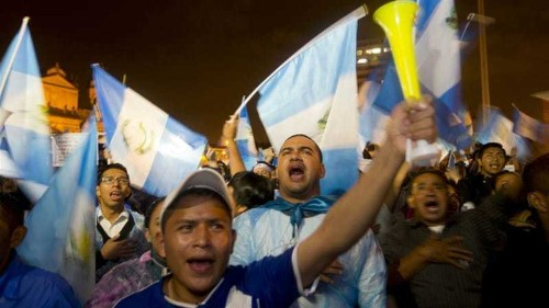 Guatemala president urged to resign 'to prevent unrest'